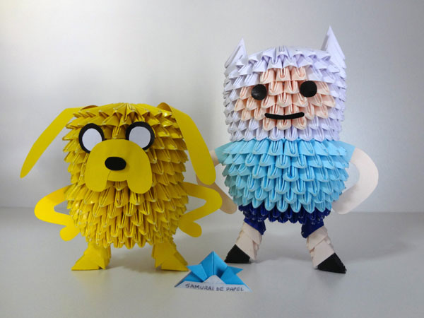 Origami 3D Adventure Time