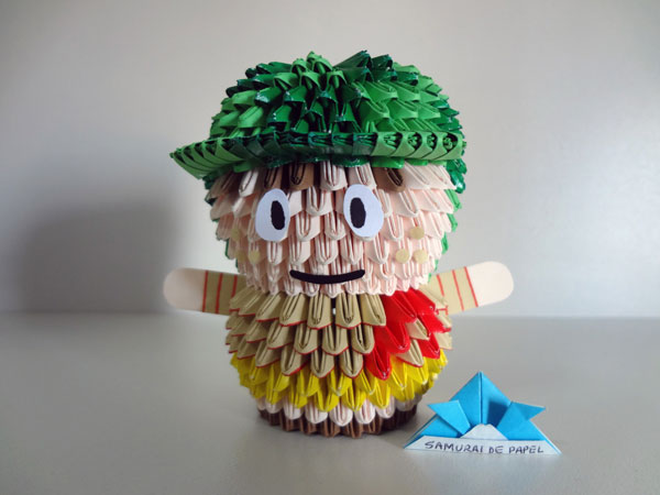 Origami 3D Chaves